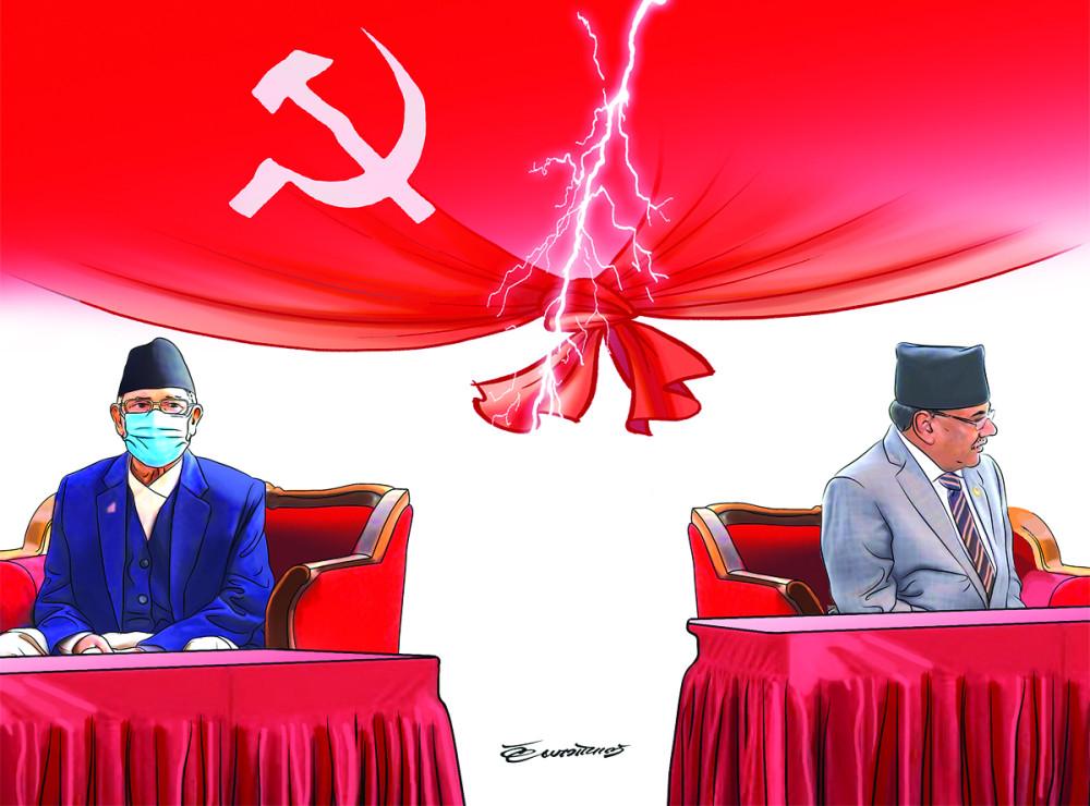 नेकपा विवाद : ओली समूहका गतिविधिले दाहाल–नेपाल समूह सशंकित